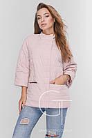 Куртка демисезонная женская Prunel 449 Ася розовая, фото 1