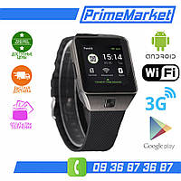 Умные часы ANDROID 4.4 WiFi 3G Smart Watch Tenfifteen QW09 аналог Lemfo/Finow