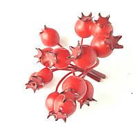 Декоративный шиповник веточка Красный 1 шт, фото 1