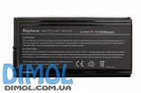 Аккумуляторная батарея для Asus F5 X50 X59 series 5200mAh 11.1 v, фото 3