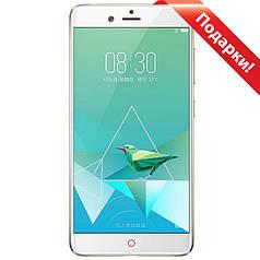 "Смартфон 5.2"" Nubia Z17 Mini, 6GB+64GB Золотистый Snapdragon 653 Android 6 камера Sony IMX258 16 Мп + селfи"