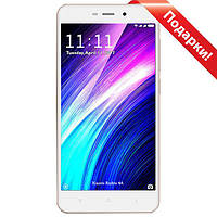 "Смартфон 5"" Xiaomi Redmi 4A, 2GB+16GB Золотистый Snapdragon 425 Android 6.0 камеры 13 Мп"