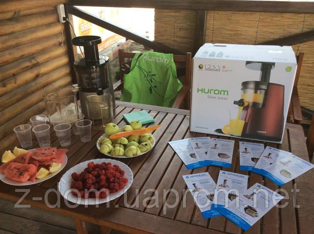 Сотрудники компании «Здоровый Дом» угощали гостей семейного фестиваля «Экватор» ароматными фрешами