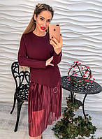 Стильный женский комплект костюм  кофта с юбкой орзанза