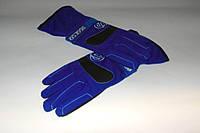 Перчатки Sparco синие.