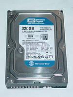"""Жесткий диск HDD на 320 Gb IDE 3.5"""" WesternDigital ДЛЯ ПК ( 320Gb ATA 100 133 3.5 ) Б/У но ИДЕАЛ c ГАРАНТИЕЙ"""