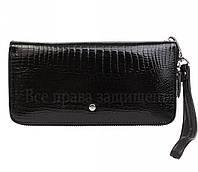 Женский кошелек на молнии Salfeite в категории кошельки оптом дешево аналог кошельков Marco Coverna MD Leather оптом AE 38-1 BLACK