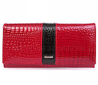 Модный женский кошелёк из натуральной кожи в категории мир кошельков опт AE152RED