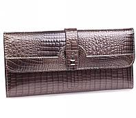 237ca4ef5e2d Серый женский кошелек кожаный в категории кошельки оптом одесса 7 км  AE65-25Silvergrey