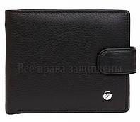 Брендовый мужской кожаный купюрник черного цвета Salfeite в категории кошельки оптом Украина AM4BLACK
