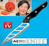 Кухонный нож для нарезки с зубчиками Aero knife Аэронож купить в Украине