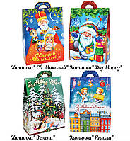 Новогодний сладкий подарок в картонной упаковке №10 500 г