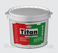 "Латексная краска для стен и потолка MIXON ""Титан - Матлатекс"" 10 л."