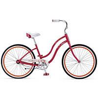 "Велосипед Giant Simple Single W малиновый 26"""