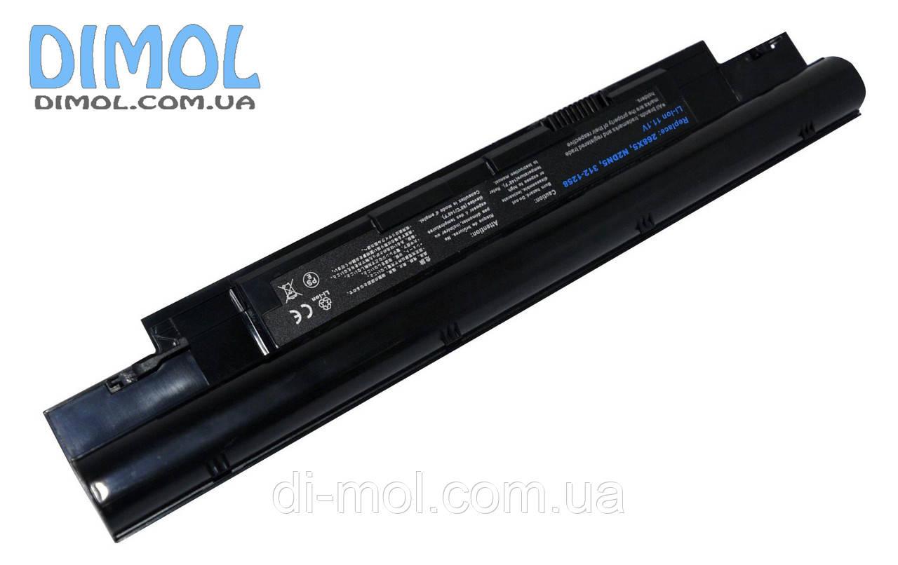 Акумуляторна батарея Dell Vostro V131 Inspiron 13z N311z 14z N411z series 5200mAh, 11.1 v