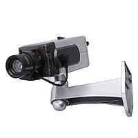 Муляж камеры видеонаблюдения Dummy Camera Wireless беспроводная камера обманка наружная