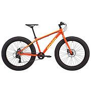"Велосипед фэтбайк 26"" Pride Donut 6.1 рама - XL оранж/желтый 2018"
