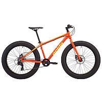 "Велосипед фэтбайк 26"" Pride Donut 6.1 рама - M оранж/желтый 2018"