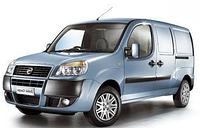 Защита заднего бампера Fiat Doblo (2001-2012)