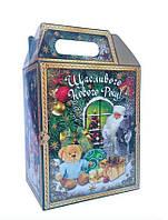 Новогодний сладкий подарок в картонной упаковке №20 1000 г