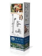 Набор смесителей для ванны Imprese Witow (05080 + 15080 + R670SD+1115+W100SL1C + 21*27*80)