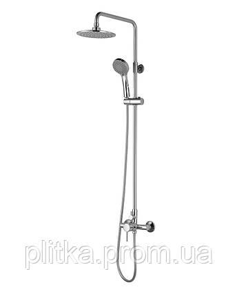 BILA SMEDA система душевая Imprese- смеситель для душа, верхний и ручной душ 3 режима, шланг 1,5м, фото 2