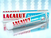Зубная паста LACALUT basic (Лакалут базик)от зубного камня 75 мл.