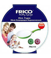 Сковорода Frico Fru-114 з керамічним покриттям