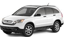 Защита заднего бампера Honda CR-V (2006-2012)