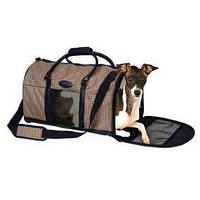Сумка - переноска Pet Voyage Houndstooth 21508 (Хаундстуз) для котов и собак 60Х26Х25 см, фото 1