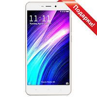 "Смартфон 5"" Xiaomi Redmi 4A, 2GB+16GB Золотистый 4 ядра Snapdragon 425 Камера 13+5Мп Android 6"
