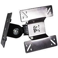 Регулируемый крепеж телевизора DINGNUO F3 универсальный для диагонали 14-27 дюймов настенный