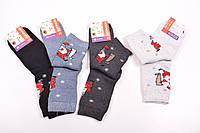 Носки женские махровые Клевер размеры 37-40 Дед мороз