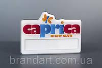 Бейдж с окном для смены имени (Caprica)