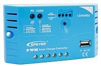 Контролер LS1024EU, ШІМ 10А 12/24В+USB EPSolar