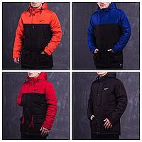 Демисезонная мужская парка | Молодежная куртка весна-осень