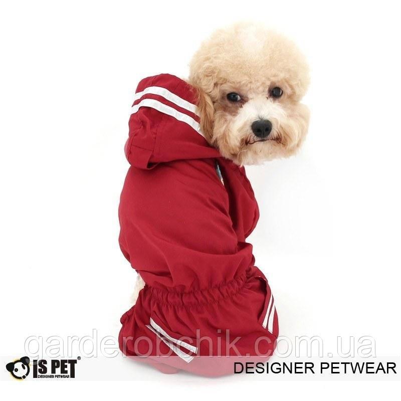 """Комбинезон, дождевик """"Спасатель""""  IS PET. Одежда для собак."""
