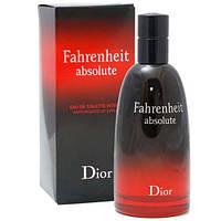 Мужская Туалетная вода  Christian Dior Fahrenheit Absolute  100 ml.   Лицензия