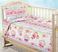 """Комплект постельного белья """"Агата-Фея"""", в кроватку"""