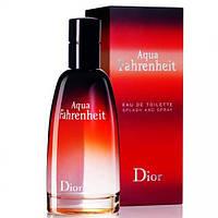 Мужская Туалетная вода  Christian Dior Fahrenheit Aqua  100 ml.   Лицензия