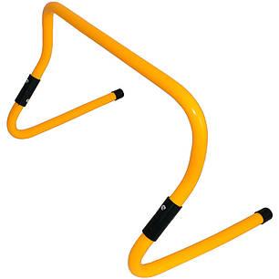 Барьер тренировочный универсальный SWIFT Multi-functional hurdle, 23-31 см (желтый), фото 2