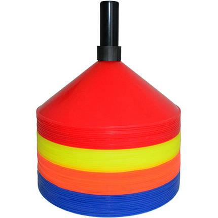 Маркер тренировочный SWIFT Marker cone, set of 48 pcs with holder, фото 2