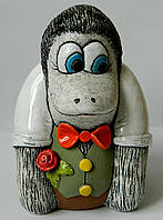 Керамічна скарбнмчка Мавпа 18 см Керамическая копилка Обезьяна