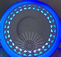 """LED панель Lemanso """"Кубики"""" 12+6W з синьою подсв. 1080Lm 4500K / LM546"""