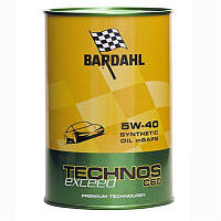 Моторне масло Bardahl TECHNOS C60 5W40 EXCEED 1 л (309040)
