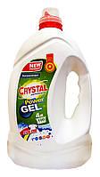 Гель-концентрат для стирки Crystal performance Color New - 4 л.