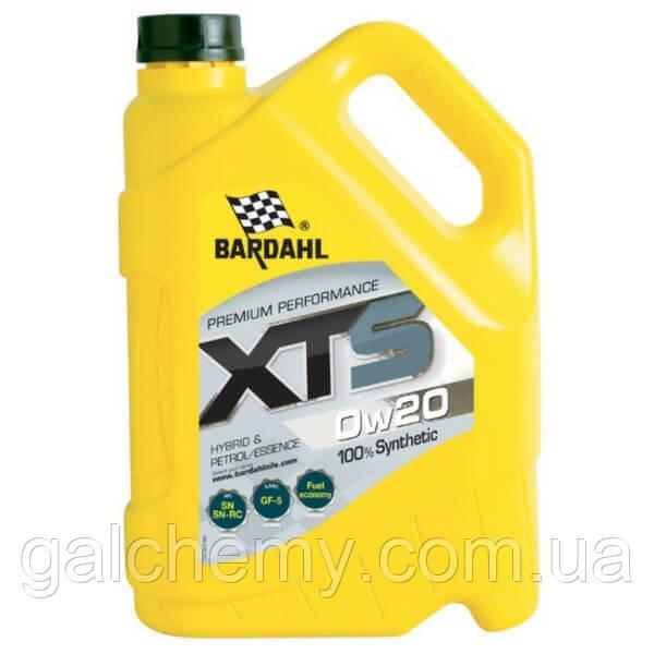 Моторне масло Bardahl XTS 0W20 5 л (36333)