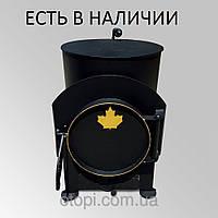 Буржуйка «Обалденная» с варочной поверхностью до 75 м³