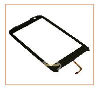 Сенсор (тачскрин) HTC Touch Pro II T7373 Black Orig