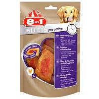 8in1 (8в1) Fillets Pro Active S 80г – Здоровье связок и суставов - лакомство для собак